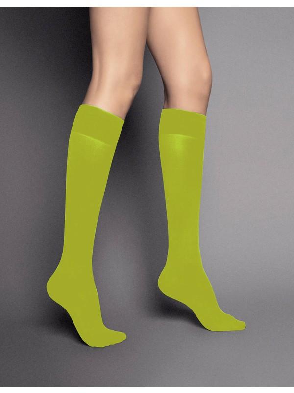 Veneziana 40 den Yeşil Dizaltı Çorap katrin kiwy