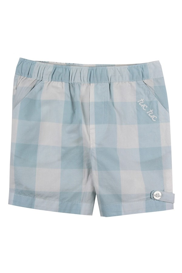 Tuc Tuc Kids Checkered Shorts