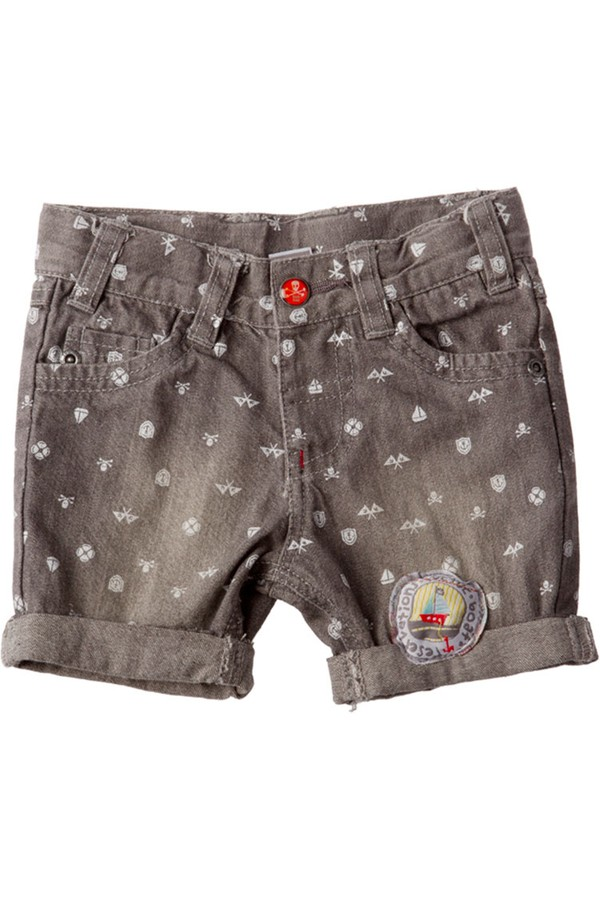 Tuc Tuc Kids Patterned Shorts