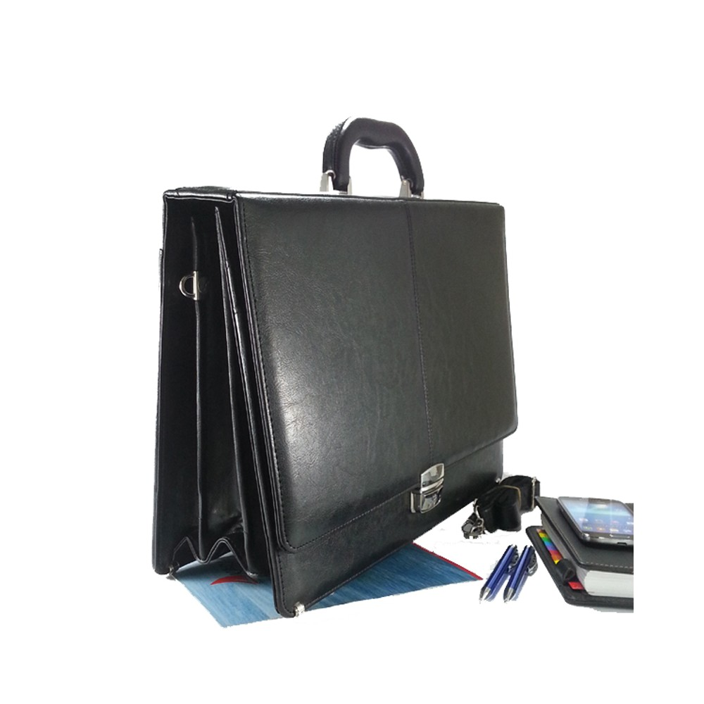 ac34bf1610524 Pera Moda Profesyonel Siyah El Evrak Çantası, Notebook Çantası