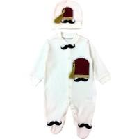 By Leyal For Kids Fes Ve Bıyık Tulum Şapka Set 2127