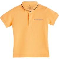 Soobe Pop Boys Yakalı Kısa Kol T-Shirt Neon Şeftali 18 - 24 Ay
