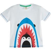 Soobe Deep Ocean Kısa Kol T-Shirt Beyaz 7 Yaş