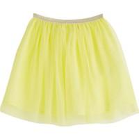 Soobe Pop Girls Tütülü Etek Limon Sarısı 7 Yaş