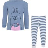 Soobe Tavşan Pijama Takımı 9 - 12 Ay