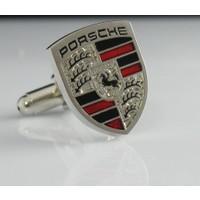 Extore Kol Düğmesi Spor Araba Marka Beyaz
