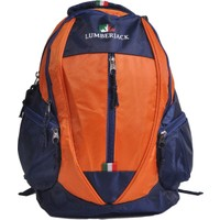 Lumberjack Okul Sırt Çantası Lacivert - Turuncu 5202