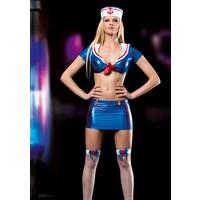 Cix Moda Erotica Seksi Denizci Kız Kostümü