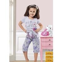 Özkan 40509 Kız Çocuk Kapri Takım