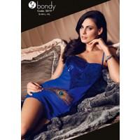 Bondy 5019 Şifon Kısa Gecelik