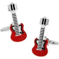 Modakedi Müzik Severlere Elektro Gitar Erkek Kol Düğmesi