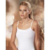 Şahinler Kadın Beyaz Dantelli İp Askılı Atlet MB612