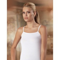 Şahinler Kadın Beyaz İp Askılı Düz Atlet MB001