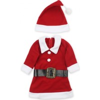 ModaKids Kız Çocuk Noel Elbise Kostüm 019-2017-002