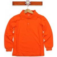 Modakids Uzun Kol Oranje Okul Lakos T-Shirt 019-9511-006