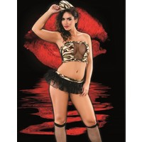 İntimo D18-4510 Fantezi Asker Kız Kostümü