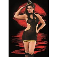 İntimo S18-4505 Fantezi Hostes Kız Kostümü