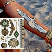 Leydika Flash Tattoo Geçici Metalik Dövme 304