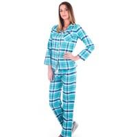 Ayyıldız 59484 Mint Yeşili Ekose Pijama Takımı