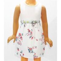 Canwin Bahar Dalı Kız Çocuk Elbise 2-5 Yaş