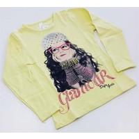 Difa Taşlı Eldivenler Kız Çocuk T-Shirt