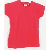 Ertuğ Anne & Bebek Düz Renk Kız Çocuk T-Shirt Koyu Pembe