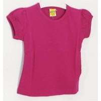 Ertuğ Anne & Bebek Düz Renk Kız Çocuk T-Shirt Mor