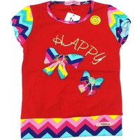 Ertuğ Anne & Bebek Happy Days Kız Çocuk T-Shirt Kırmızı