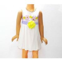 Himms Elbise Lila Astarlı Kız 1-6 Yaş