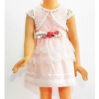 Kts Baby Dantelli Kız Çocuk Elbise 2-5 Yaş