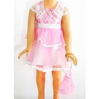 Kts Baby Prenses Kız Çocuk Elbise 2-5 Yaş