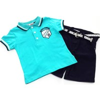 Kts Baby Yakalı T-Shirtlü Takım 2-5 Yaş