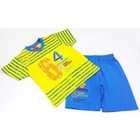 Minice Yarışçı Erkek Çocuk Takımı Sarı
