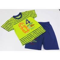 Minice Yarışçı Erkek Çocuk Takımı Yeşil