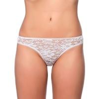Özkan Bayan Dantelli Bikini Külot 6124 Beyaz
