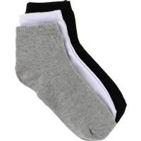 Çekmece 12'Li Paket Ekonomik Erkek Patik Çorap Karışık Renk
