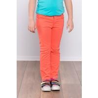 Ottomama Kız Çocuk Keten Pantolon Oranj Renk