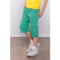 Denimart Erkek Çocuk Bermuda Şort Yeşil Renk