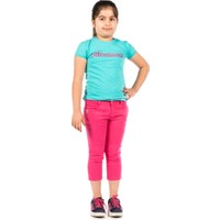 Ottomama Kız Çocuk Basic Kapri Nar Renk