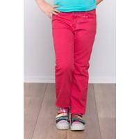 Ottomama Kız Çocuk Yağ Yıkamalı Pantolon Fuşya Renk