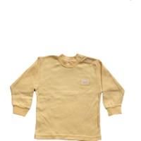 Shecco&Babba Uzun Kollu Çocuk T-Shirt Sarı