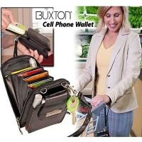 Bundera Buxton Cell Plone Wallet Askılı Telefon Cüzdanı
