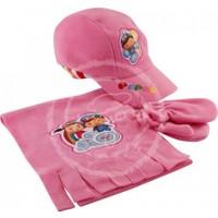 Pepee Polar Atkı Şapka Takımı (Ribanalı)