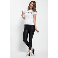 Bonalodi Selfie Beyaz Bayan T-Shirt