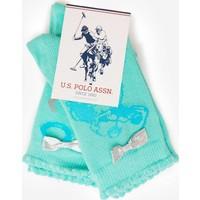 U.S. Polo Assn. Kız Çocuk Clip Çorap Yeşil