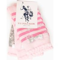 U.S. Polo Assn. Kız Çocuk Daisysk7 Çorap Pembe