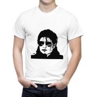 Cücüko Michael Jackson Silüet Baskılı Tişört