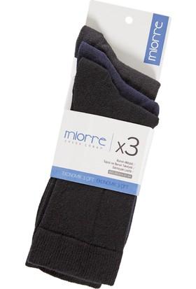 Miorre 3 Lü Pamuk Erkek Çorap Asorti