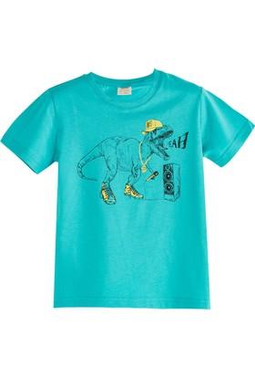 Soobe Pop Boys Dinazor Kısa Kol T-Shirt Okyanus 3 Yaş
