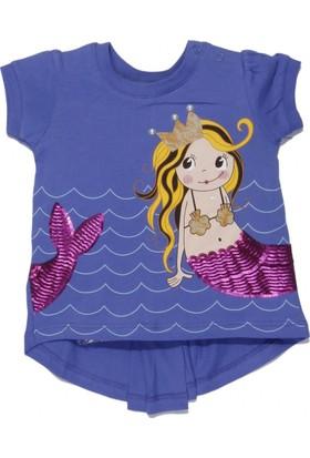 Soobe Minik Deniz Kız Çocukı Kısa Kol T-Shirt - Parlement